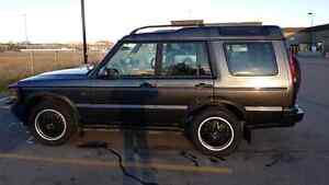 2000 land rover discovery II Luxury suv awd