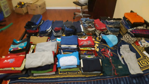 Huge lot of boys clothes (sizes 2 through 6)