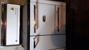 Wood burning stove /range
