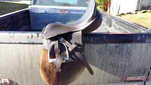 17 inch English saddle