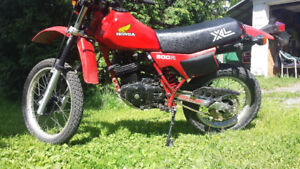 Honda xl500r echange atc250r 350x tri-z tecate pick-up 4x4 etc..