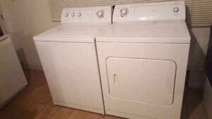 Washer dryer in good condition moving sale