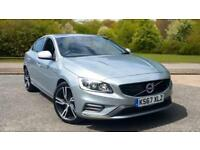 2017 Volvo S60 D4 R-Design Lux Nav Auto With Automatic Diesel Saloon