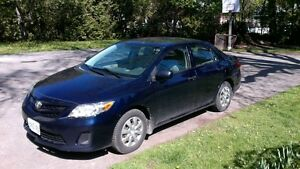 2011 Toyota Corolla with under 60 000 kms