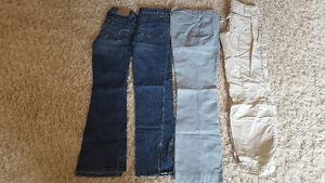 Women's Jeans / Pants / Shorts, Sizes 1-2, 3-4, 6 and 8 Kitchener / Waterloo Kitchener Area image 1