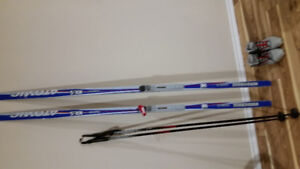 Atomic NX 5 x country ski pkg