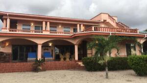 Beautiful Beach front Luxury Home Located in Belize for sale