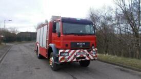2003 (03) MAN 18 260 4X4 FIRE ENGINE