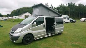 Vivaro sportive campervan lwb pop top for sale