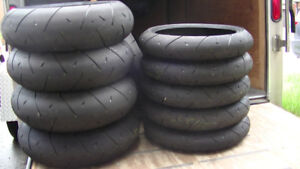 motorcycle tire scrubs race track tires michelin dunlop pirelli.
