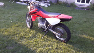2007 CRF 80.....open to offers or trades