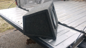 """10"""" subwoofer in a box"""