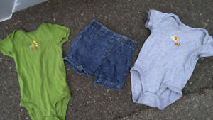Boys baby clothes 3-6 months, variety of items