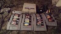 Super Nintendo Games and Console for sale.