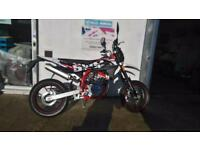 New 2018 SWM SM125R Supermoto Learner Legal 125cc