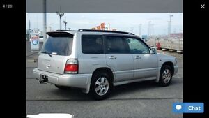 99 Subaru Forester, ONLY 77K, AWD,RHD