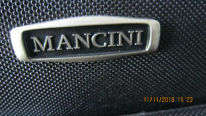 Luggage black bran new Mancini
