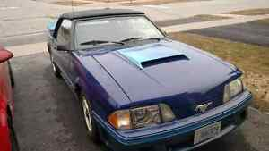 1983 Mustang GT 5.0L Convertible Candy Blue *MINT* One of a kind