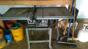 """8 1/4"""" bench top saw"""