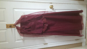 3 pce burgundy outfit size 11/12