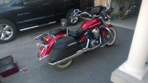 YAMAHA V STAR I300  .QUADZILLA FAIRING WITH RADIO.VALUE 2700$