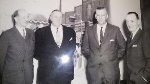 Vintage Hamilton Photograph 1963 Former Mayor Victor Copps