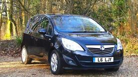 Vauxhall/Opel Meriva 1.7CDTi 16v ( 100ps ) ( a/c ) auto 2011MY SE