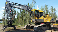 2004 Volvo EC290BLC Excavator with 2005 IMAC HX40 Power Grapple