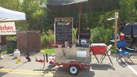 Hot Dog Cart vending