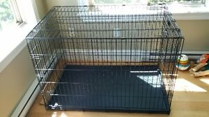 Extra extra large dog crate - excellent condition