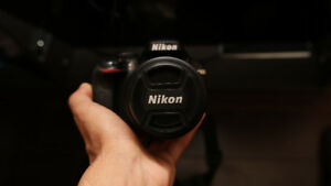 Nikon D3300 WITH 2 LENSES AND TONS OF ACCESSORIES