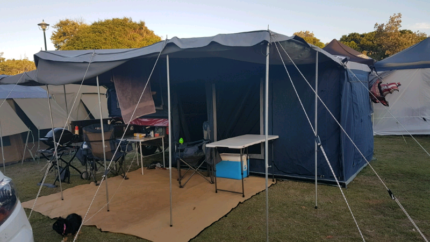 MDC soft floor camper Weston Cessnock Area Preview