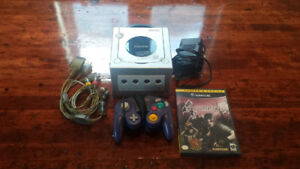 Nintendo Gamecube with 1 controller and Resident Evil 4