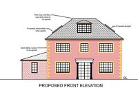 Longton - 3 bed detached bungalow planning permission to convert to 4 bed detached