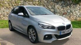 image for BMW 2 Series 220i M Sport 5dr - Satellite Navigation System and Auto Hatchback P
