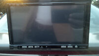 Double Din Stereo with remote and AMP