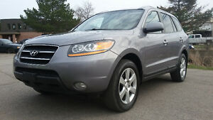 2008 Hyundai Santa Fe AWD, LEATHER, SUNROOF SUV, Crossover