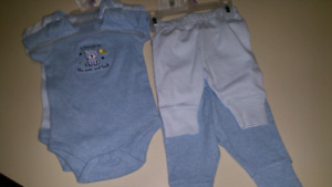 "Baby boy ""Newborn,"" set..BRAND NEW WITH TAGS"