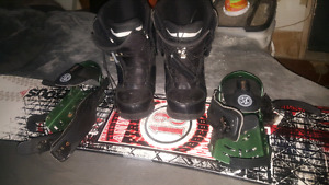 Firefly snowboard with bindings and boots. Moving sale