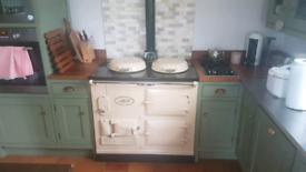 Aga oil fired cooker