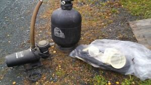 swimming pool pump ,filter ,and  skimmer parts