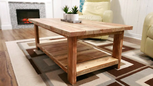 Rustic Coffee Table -  Accent Table