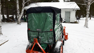 Compact Tractor Soft Cab(Great for Mosquito and Blackfly Season)