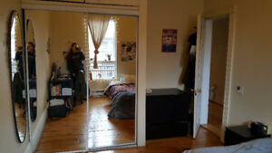 1 LARGE BEDROOM in a 4 ½ sublet January-August OR January-May