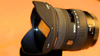 Canon-Sigma 10-20mm f/4-5.6 EX DC HSM Lens for Canon EF-S Mount