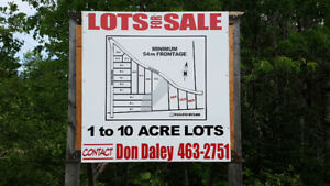 BUILDING LOTS FOR SALE