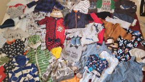 Baby boy clothes - lot (A) more than 40 pieces