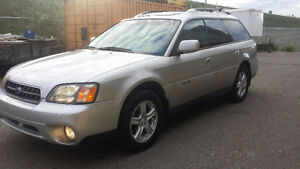REDUCED / 2004 SUBARU OUTBACK LOADED AWD AUTO START 2.5 LIT ENG.