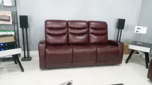 electric couch with cup holders brand new on sale back to school