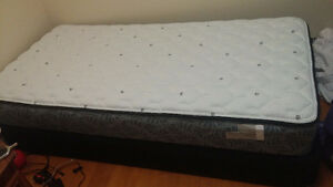 Twin size Mattress with Box spring in excellent condition